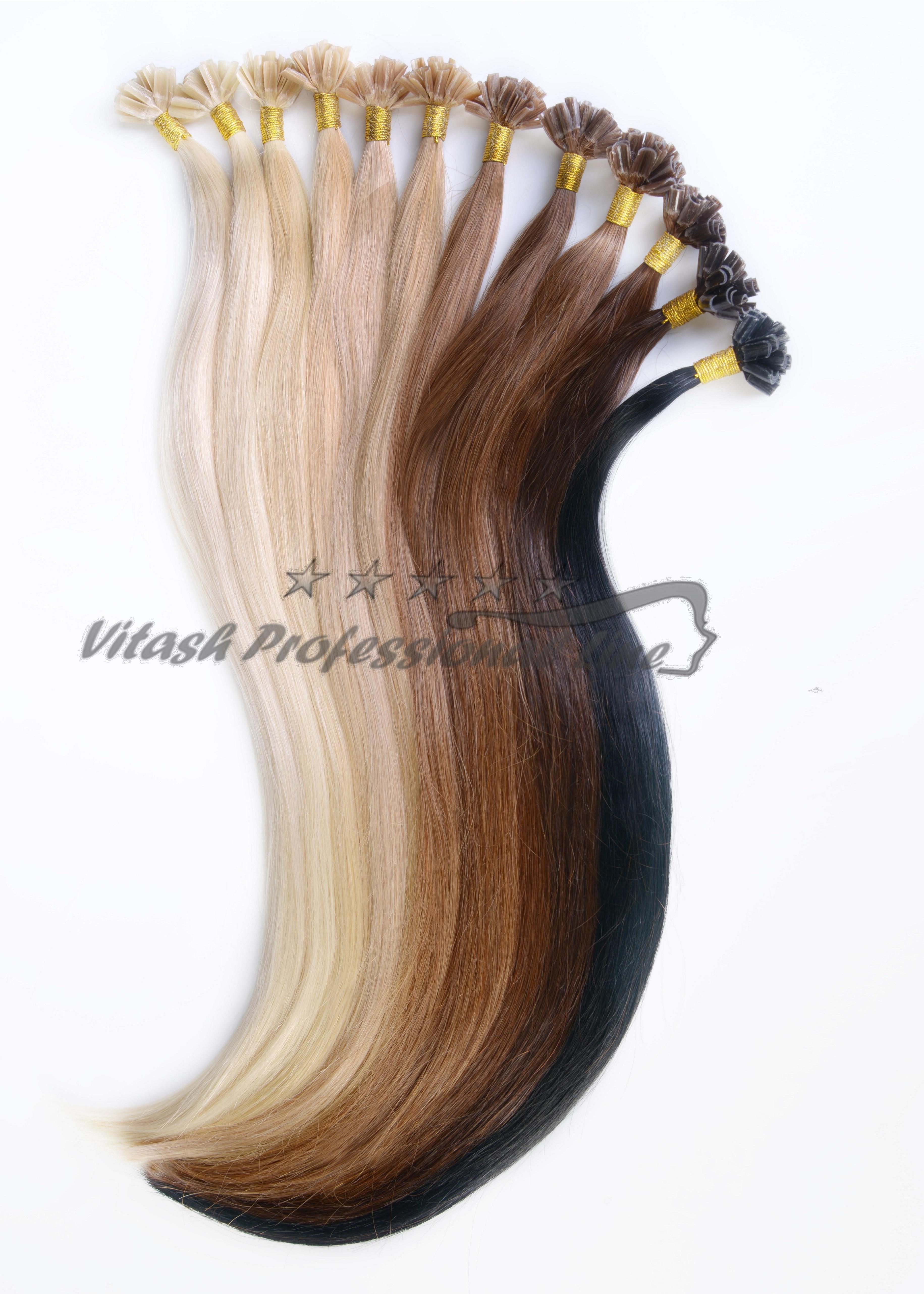 100 remy human hair echthaar extensions haarverl ngerung keratin bonding 1g ebay. Black Bedroom Furniture Sets. Home Design Ideas